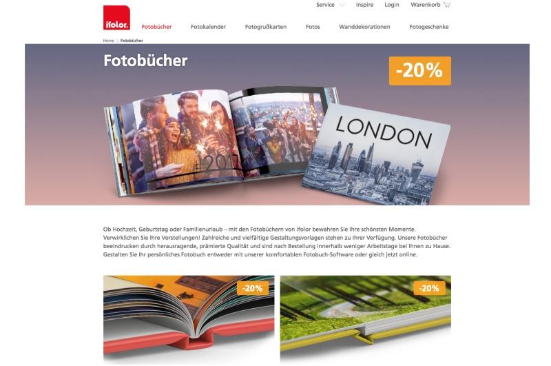 shot 3 - ifolor Fotobuch Erstellung & Fazit