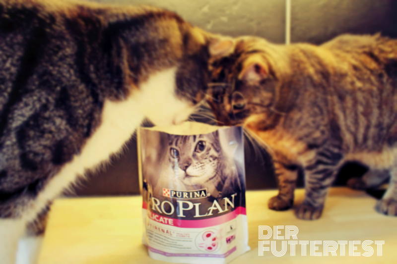 Purina Proplan Delicate schrift