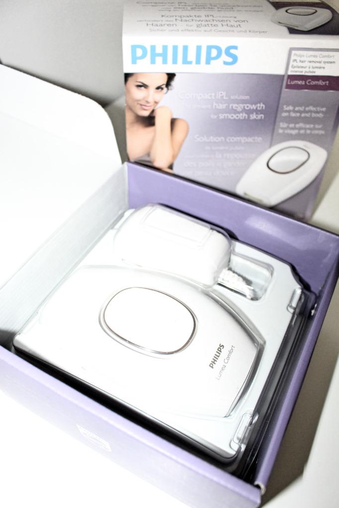 wenig verpackung - Philips Lumea Comfort im Test