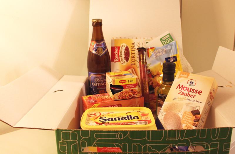 box 1 - Brandnooz Box  - November Novitäten 2014