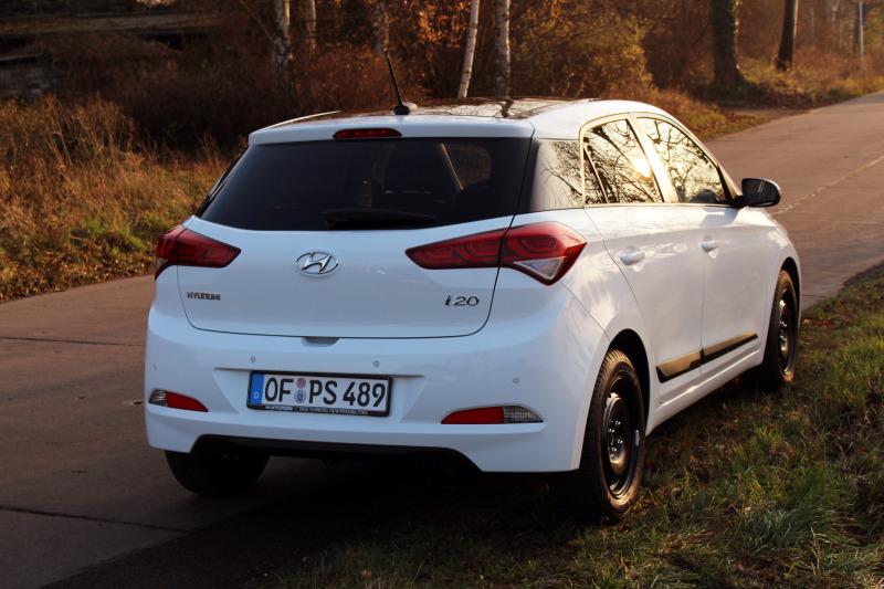 a 16 - Hyundai i20 im Test – Tag 5