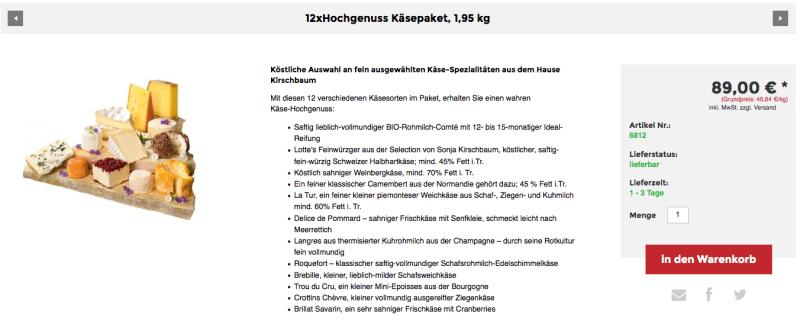 Feinschmecker Onlineshop l