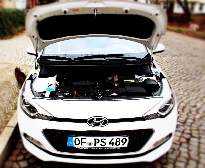 motor - Hyundai i20 im Test – Tag 7