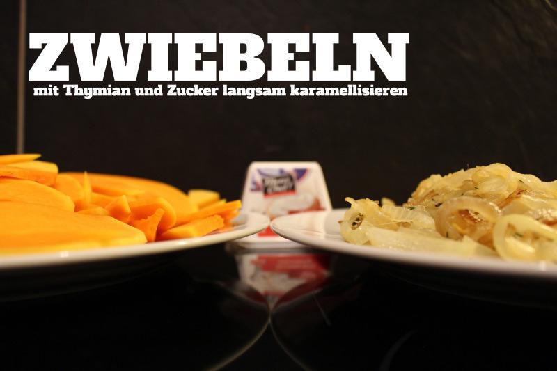 zwiebeln - Merci Chef Ziegenkäse im Test