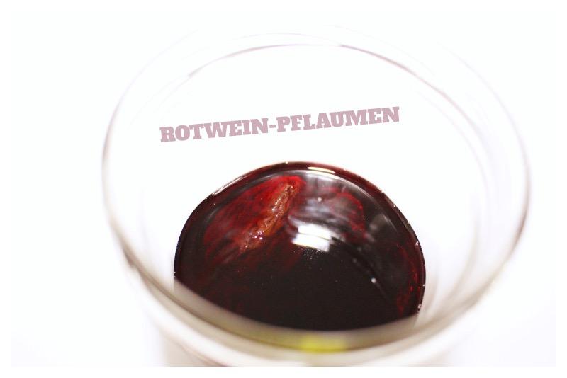 rotwein schrift - Pruneau d'Agen - Trockenpflaumen im Test