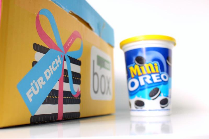 minis 1 schrift - Brandnooz Oreo Box