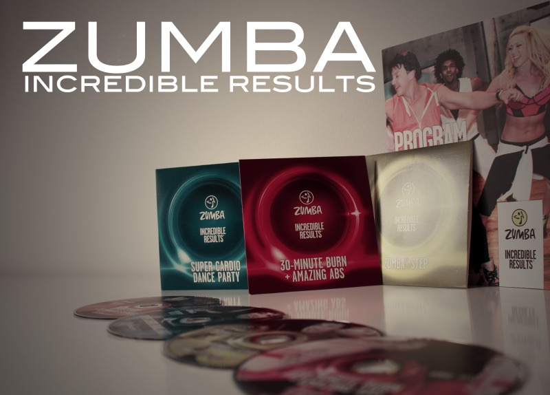 "zumba - ZUMBA Paket ""Incredible Results"" im Test"