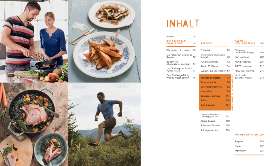 inhalt - Paleo: Power every day - die Buchrezension