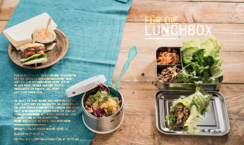 lunch - Paleo: Power every day - die Buchrezension