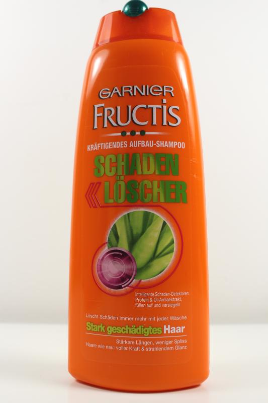 shampoo - Fructis Schaden Löscher-Serie im Test