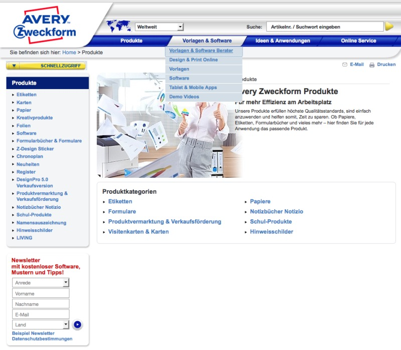 Avery software