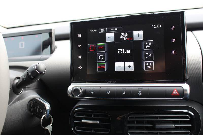 touch klima - Citroën C4 Cactus im Test - Das Interieur