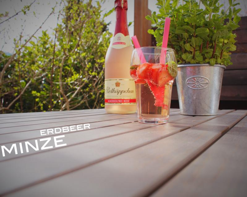 erdbeer minze - Erdbeer-Minz-Rosé