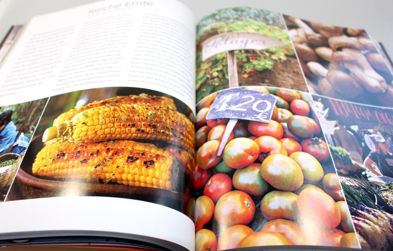 gemüse - Eine kulinarische Weltreise - die Buchrezension