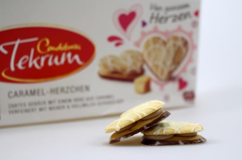 keks nah - Tekrum Caramel-Herzchen im Test