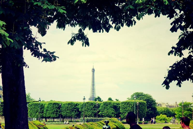 eiffel louvre - Wir waren dann mal in Paris