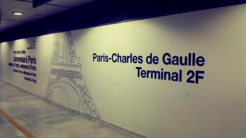 flughafen - Paris - der etwas andere Gewinn.