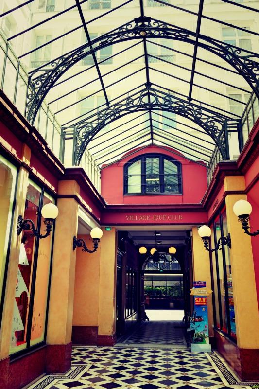 innrenhof - Wir waren dann mal in Paris