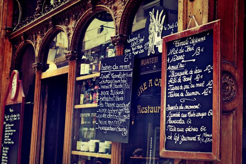 innrenhof tafeln - Wir waren dann mal in Paris