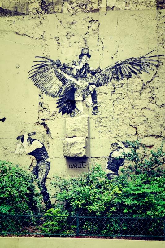kunst - Wir waren dann mal in Paris