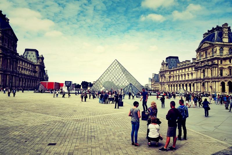 louve touri - Wir waren dann mal in Paris