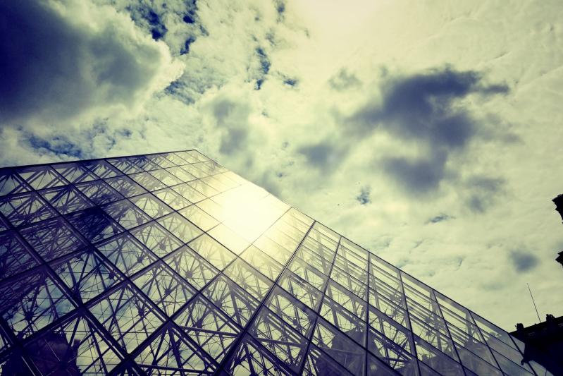 louvre himmel - Wir waren dann mal in Paris