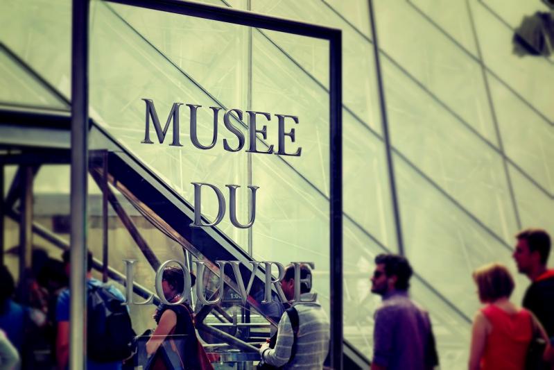 louvre musee - Wir waren dann mal in Paris