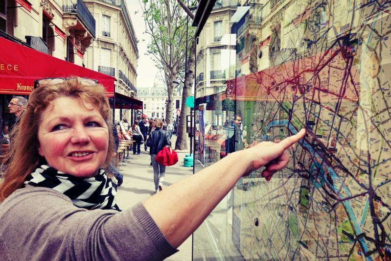 ma karte - Wir waren dann mal in Paris