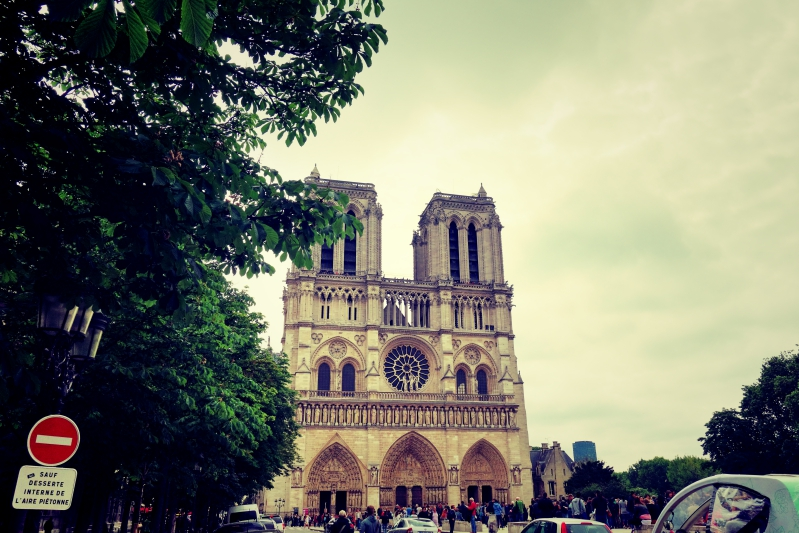 notre 2 - Wir waren dann mal in Paris
