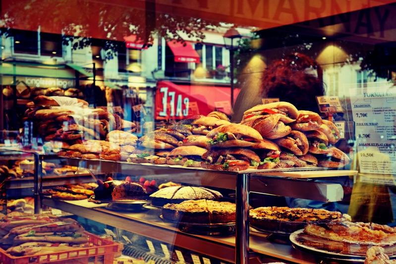 spiegelung baguette - Wir waren dann mal in Paris