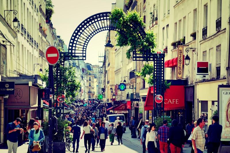 voll - Wir waren dann mal in Paris