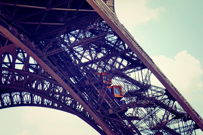 eiffel gondel - Paris - ein Kurzeindruck