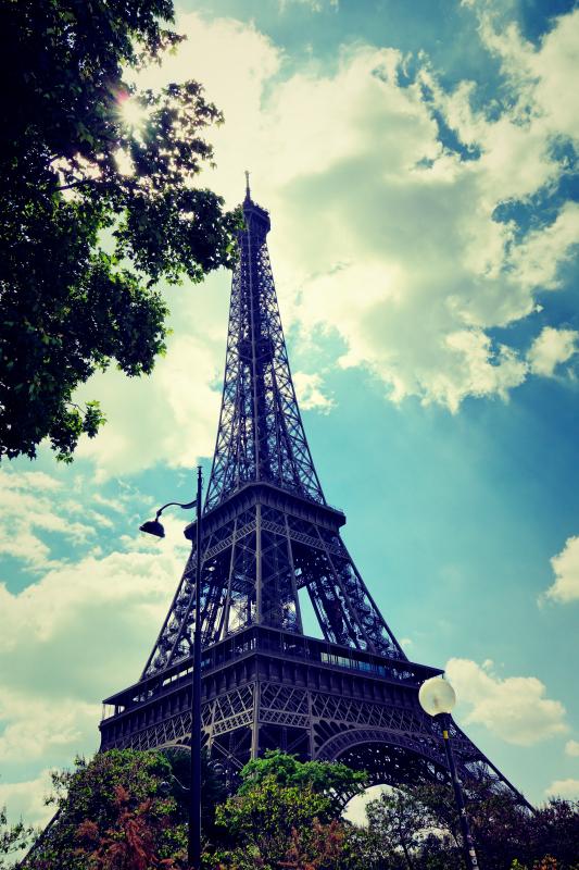 eiffel hoch - Paris - ein Kurzeindruck