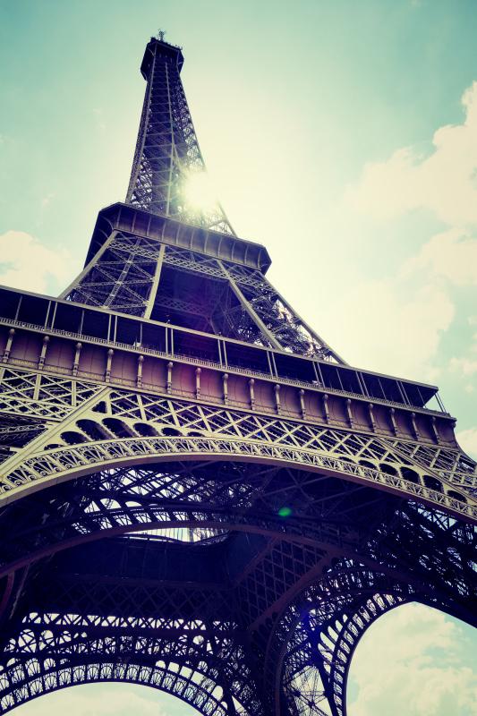 eiffel hoch 2 - Paris - ein Kurzeindruck