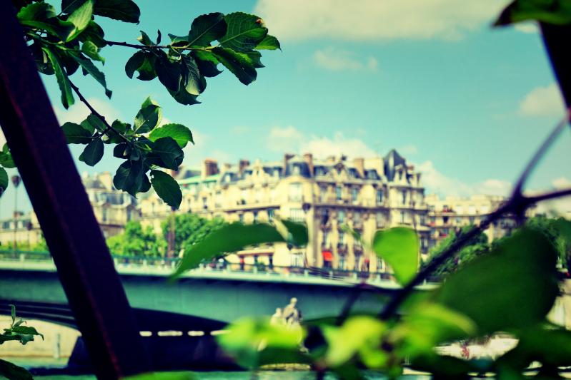 gewaechs haus - Paris - ein Kurzeindruck