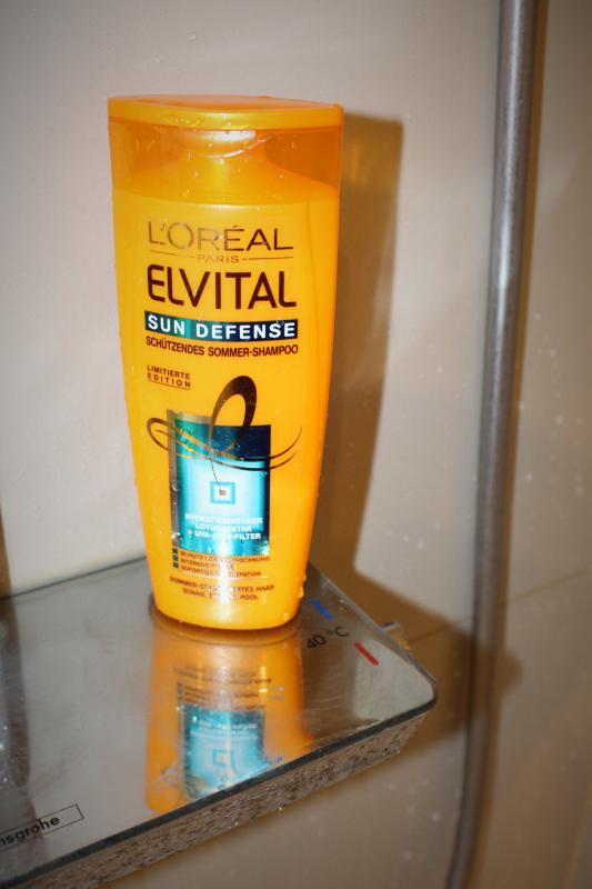hoch - Elvital Sun Defense Sommer-Shampoo