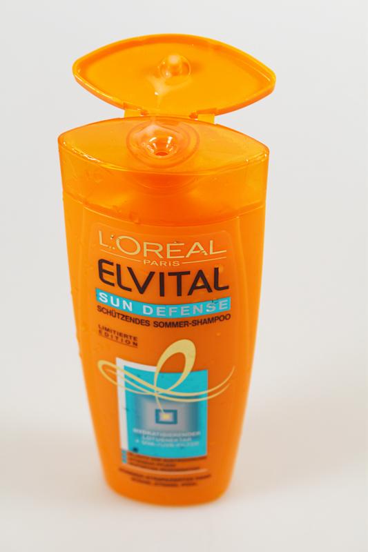 offen1 - Elvital Sun Defense Sommer-Shampoo