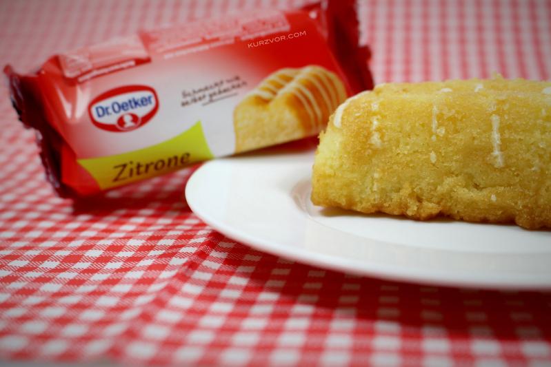 zitrone vergleich - Kleine Rührkuchen von Dr. Oetker