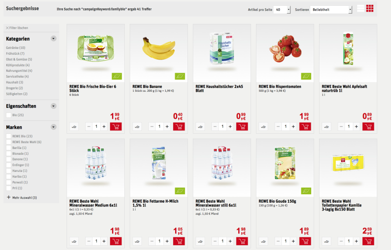 Banane - Rewe Lieferservice