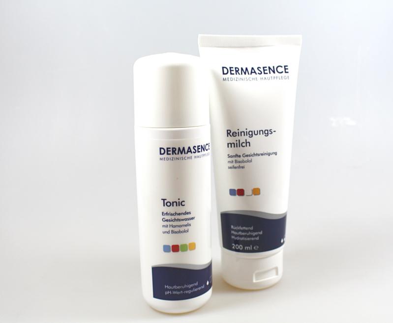 beide - Dermasence Reinigungsmilch & Tonic