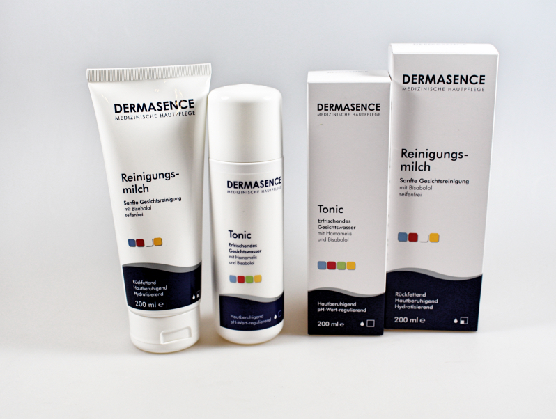 beide total - Dermasence Reinigungsmilch & Tonic