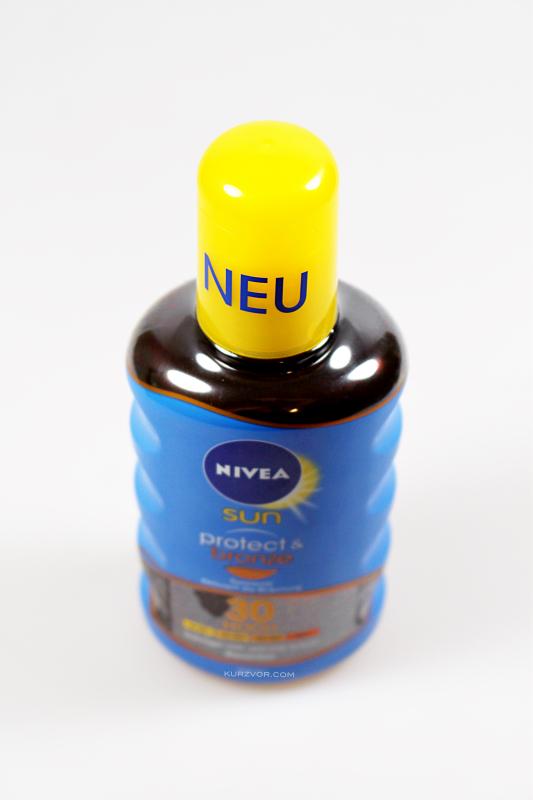 oben - Nivea Sun Protect & Bronze Sonnenöl
