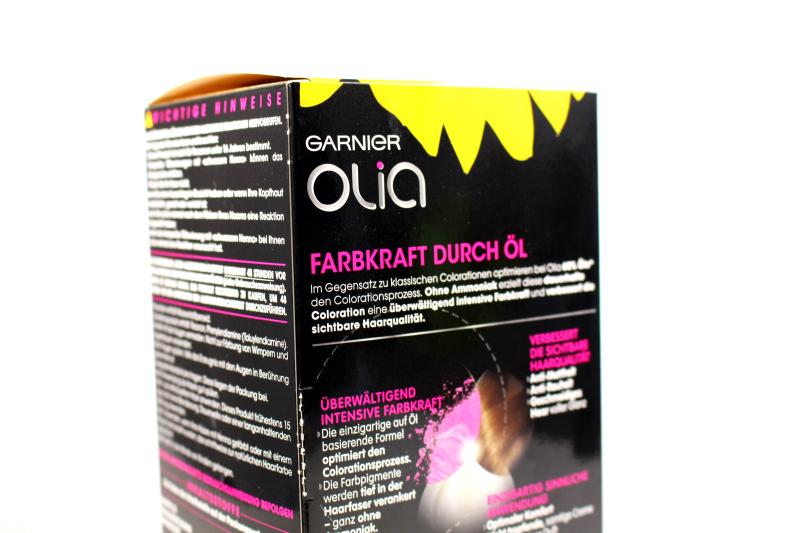 verpack nah - Garnier Olia Haarfarbe & Gewinnspiel