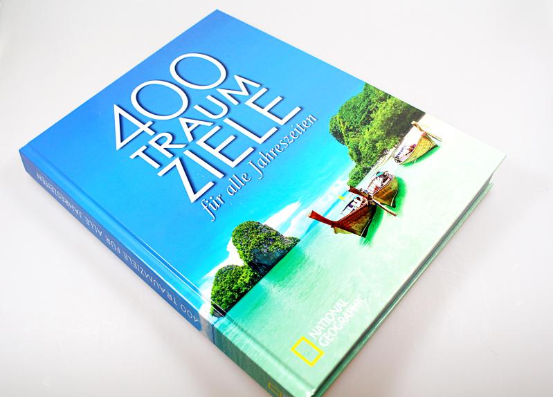 cover - 400 Traumziele für alle Jahreszeiten