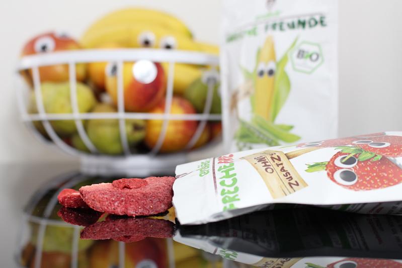 erdbeer close - Freche Freunde