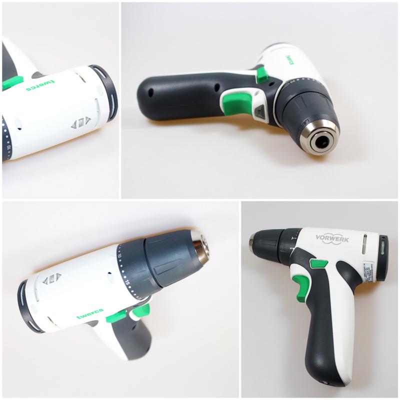 mix schrauber - Twercs Werkzeugkoffer von Vorwerk