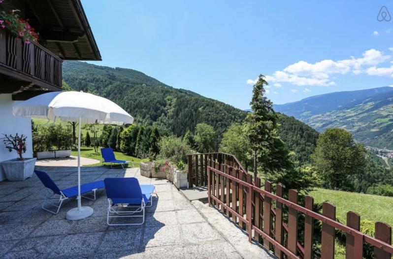 terrasse - Ein Urlaub mit Airbnb