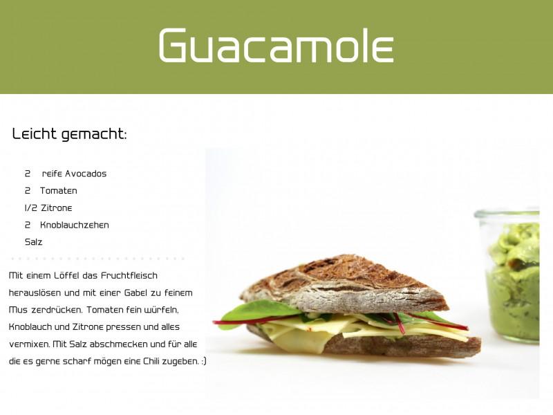 Lecker-Schmecker Frühstück Guacamole