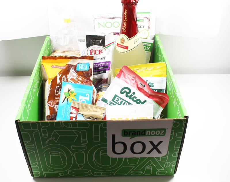 brandnooz Box Oktober 2015 box