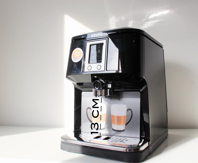 13cm - Krups 2in1 Touch Kaffeevollautomat